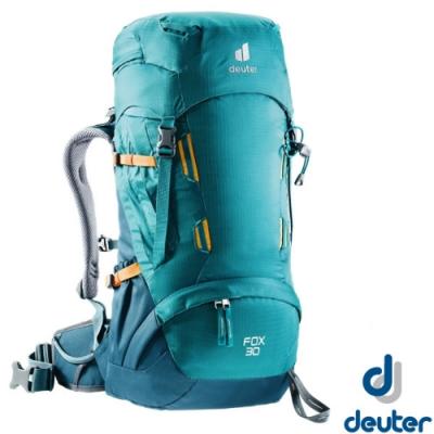 Deuter Fox 30+4L 專業輕量拔熱透氣背包_湖藍/藍