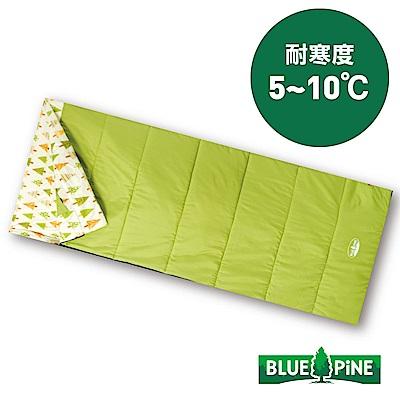 【BLUEPINE】方型纖維保暖睡袋 Regular『綠』B71806