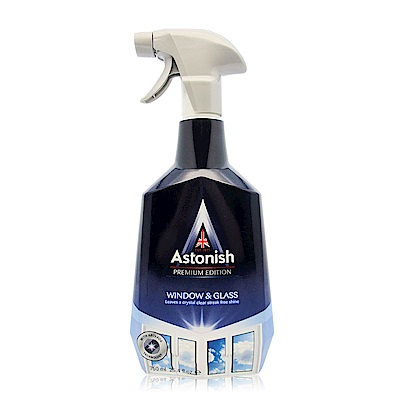 Astonish英國潔 亮光清透玻璃清潔劑 750ml