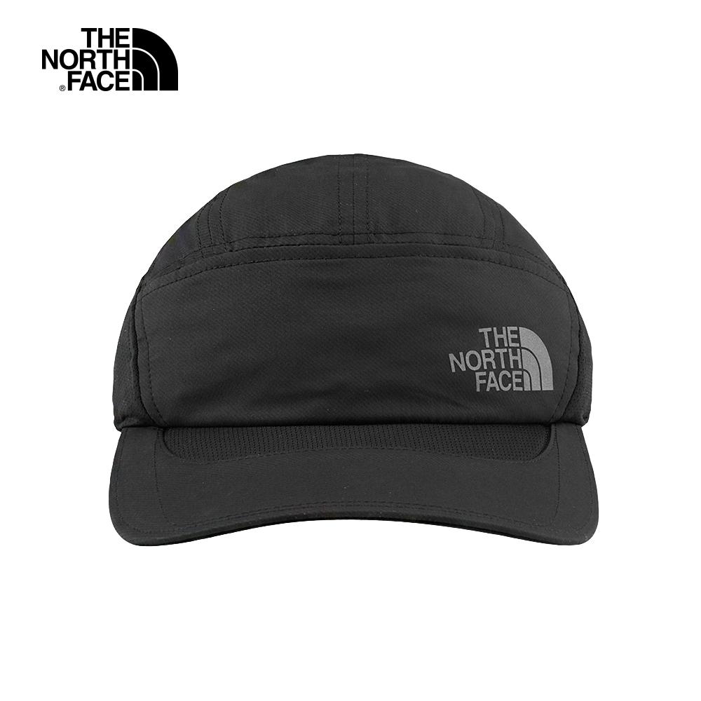 The North Face北面男女款黑色吸濕排汗運動帽|2SBSJK3