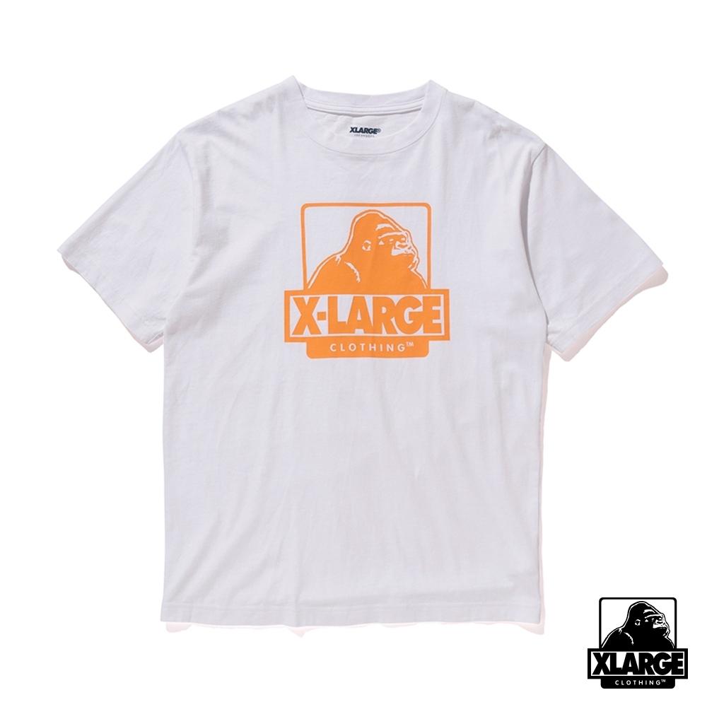 XLARGE S/S TEE OG短袖T恤-白