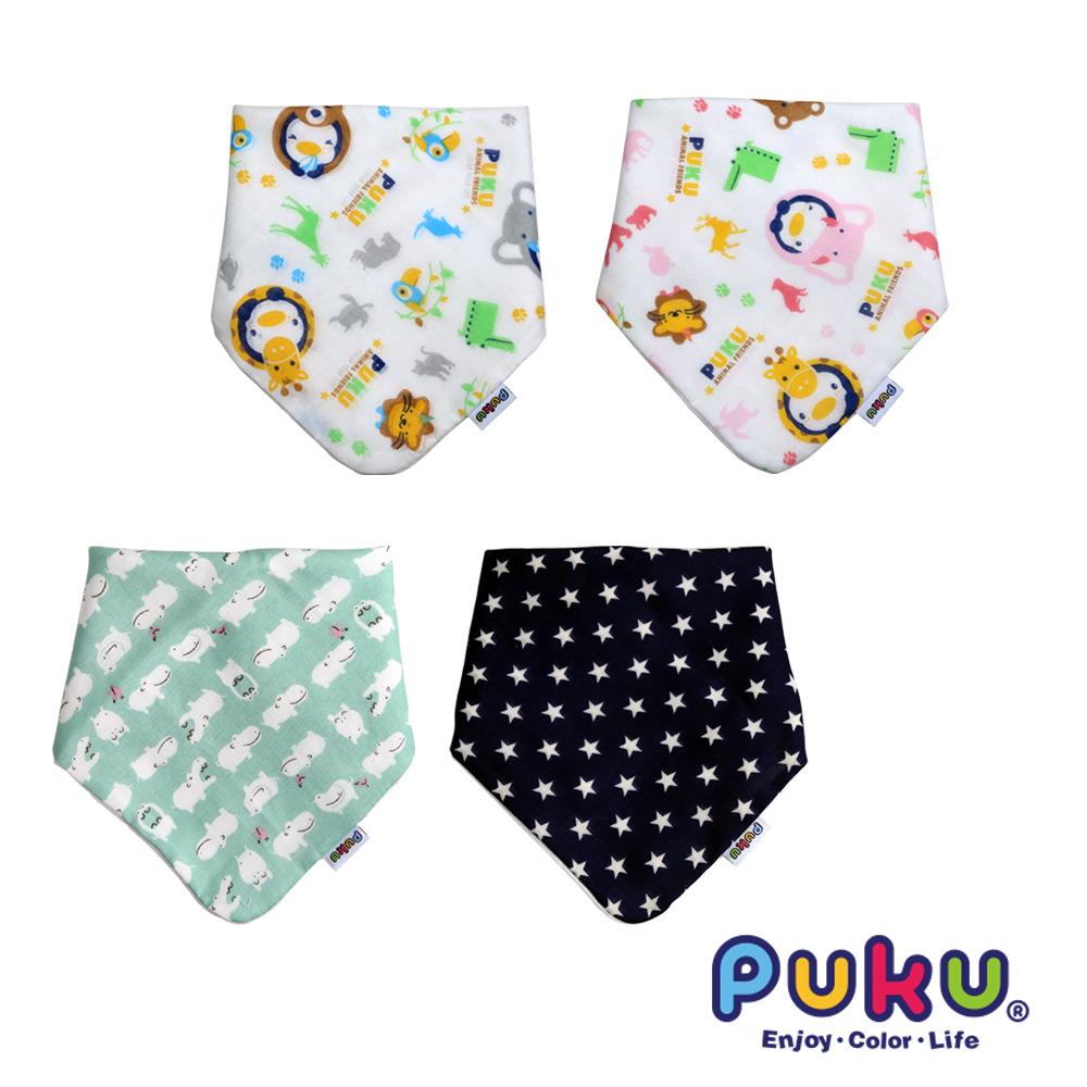 【PUKU】棉柔兩用揹巾口水兜-28*28cm
