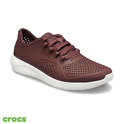 Crocs 卡駱馳 (女鞋) LiteRide徒步繫帶鞋 205234-616