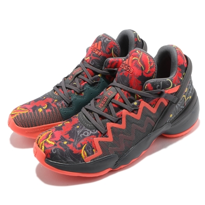 adidas 籃球鞋 DON Issue 2 GCA 男鞋 愛迪達 避震 包覆 支撐 球鞋 穿搭 黑 橘 FX7432