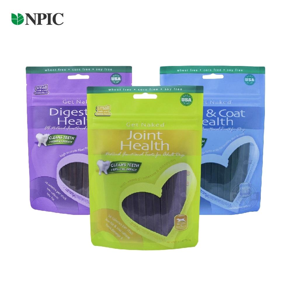 美國 NPIC 健納緹 頂級有機保健潔牙棒 176g 關節保健 腸胃保健 皮毛保健 狗零食 潔牙骨