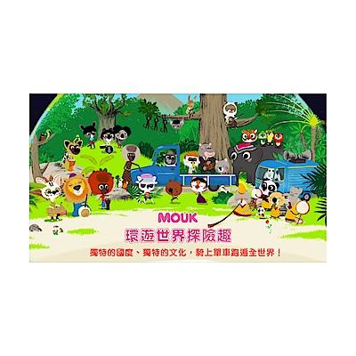 環遊世界探險趣1~104集DVD附手冊筆記手提袋