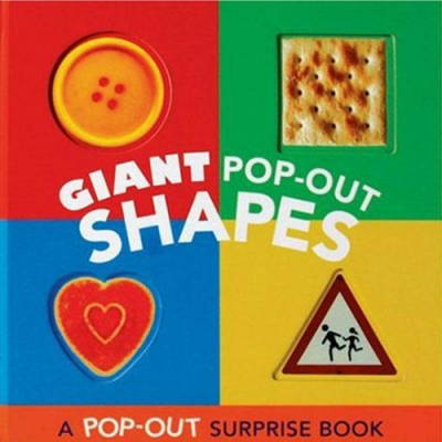 Shapes-Giant POP OUT 形狀操作書