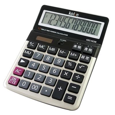 KOLIN 歌林商業用12位元稅率計算機 KEC-HC06