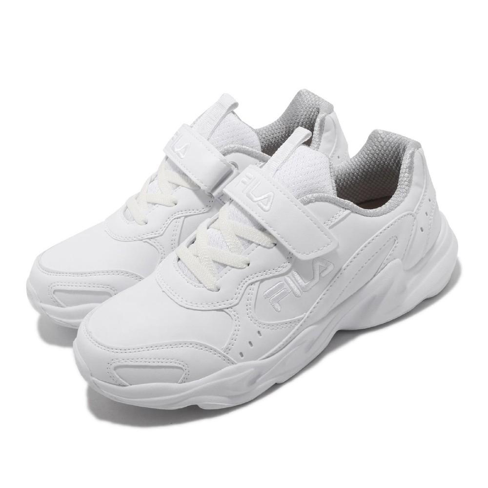 Fila 慢跑鞋 3J803T111 運動休閒 童鞋