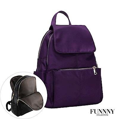 FUNNNY 輕量尼龍後背包系列 Libby 紫