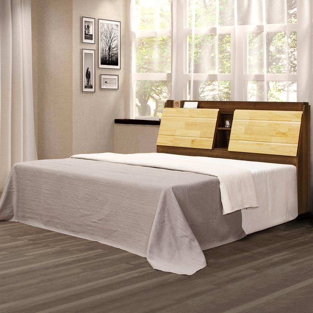 Homelike 奇諾中國風床台組-雙人5尺