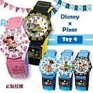 DISNEY迪士尼玩具總動員4休閒織帶手錶33mm-6款任選