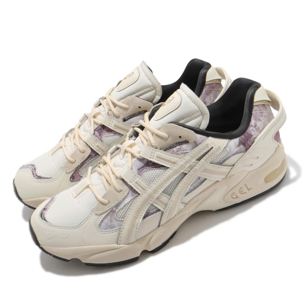 Asics 休閒鞋 Gel Kayano 5 RE 男鞋 亞瑟士 懷舊 渲染 緩震 老爹鞋 亞瑟膠 米 紫 1021A411200