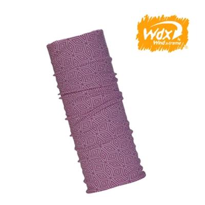 【Wind x-treme】美麗諾羊毛保暖多功能頭巾 5006 淺紫紅(透氣、圍領巾、西班牙)