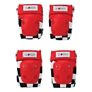 GLOBBER EVO 兒童護具組(護肘+護膝)-賽車紅