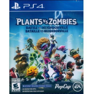 植物大戰殭屍:和睦小鎮保衛戰 Plants Vs. Zombies: Battle for Neighborville - PS4 中英文美版
