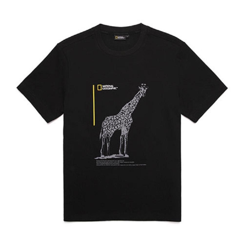 NATIONAL GEOGRAPHIC 中性 H/TEE 短袖T恤 碳黑-N202UTS130198