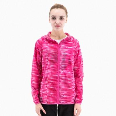 【St. Bonalt 聖伯納】女款迷彩超輕透防曬外套 (8030-粉格迷彩) 抗UV 防曬 防風 防潑水 輕薄 透氣