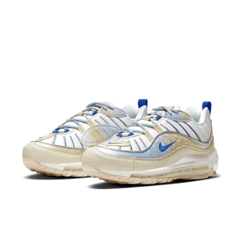 Nike 休閒鞋 Air Max 98 LX 運動 女鞋 經典款 氣墊 舒適 避震 球鞋 穿搭 白 米白 CD0685200