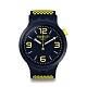 Swatch Big Bold 系列手錶 BBNEON 明亮黃 - 47mm product thumbnail 1