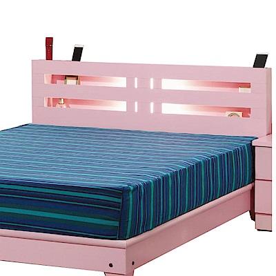 綠活居 艾許莉5尺雙人床頭片(七色)-151.5x11.3x92.3cm-免組