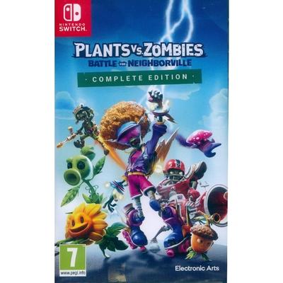 植物大戰殭屍:和睦小鎮保衛戰 完整版 Plants vs. Zombies: Battle for Neighborville Complete Edition - NS Switch 中英日文歐版