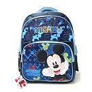 DF 童趣館 - 正版迪士尼米老鼠兒童反光條雙肩後背包-共2款