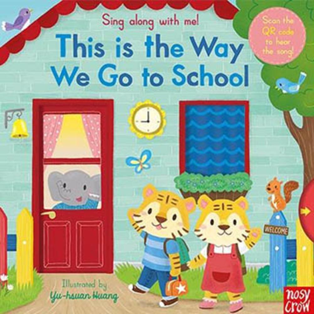 This Is The Way We Go To School 童謠歌唱操作書(英國版)