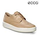 ECCO SOFT 9 氣質百搭輕便休閒鞋 女-裸色