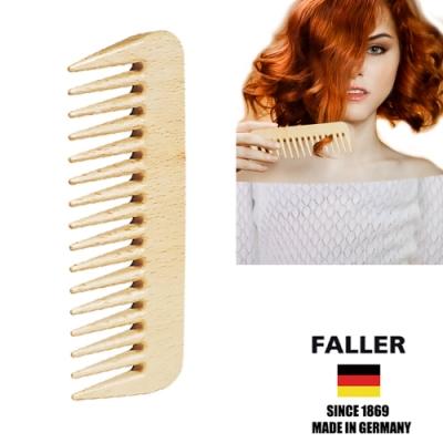 德國FALLER芙樂德國製 隨身型寬木齒梳   (一入)