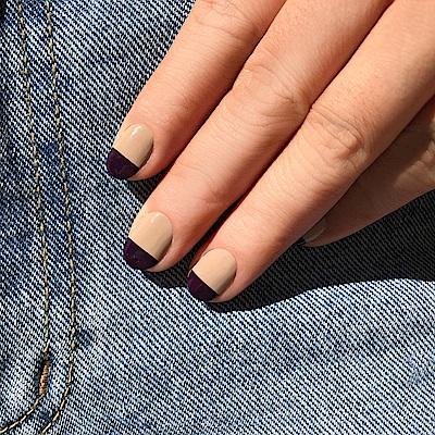 OPI 意想不到的絕美配色-暖褐色x深紫色(ISL21+ISLV35)