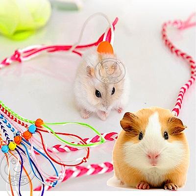 dyy》寵物鼠|松鼠|小動物牽繩140cm(顏色隨機出貨)