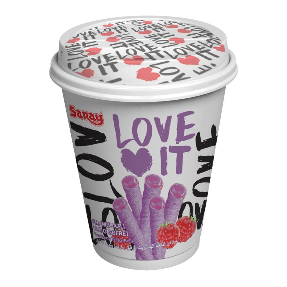 LOVE IT 爆漿繽紛覆盆莓捲(210g)