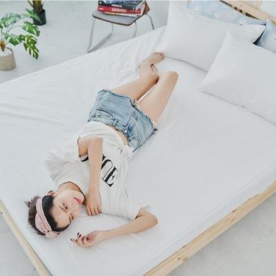BUHO布歐 防蹣透氣毛巾布-床包式防水保潔墊(5尺雙人)