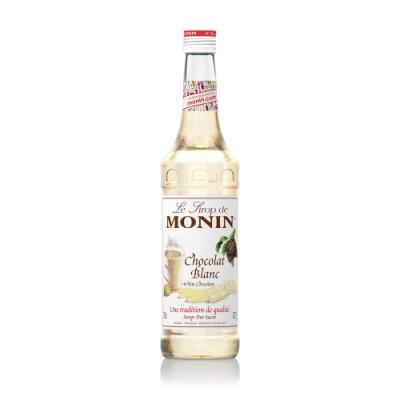 Monin糖漿-白巧克力700ml