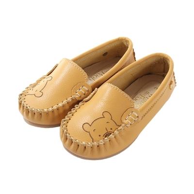 魔法Baby 女鞋 台灣製迪士尼小熊維尼正版真皮休閒帆船鞋~sd3272