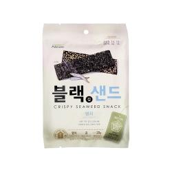 韓味不二【韓國原裝】海苔脆片(鯷魚口味) (20g)