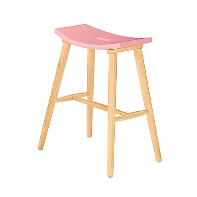 AS-莉卡馬卡龍吧椅-50x38x62cm(兩色可選)