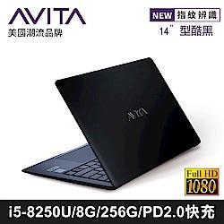 AVITA LIBER 14吋筆電 i5-8250U/8G/256GB SSD 型酷黑