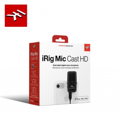 IK Multimedia iRig Mic Cast HD 雙向錄音麥克風