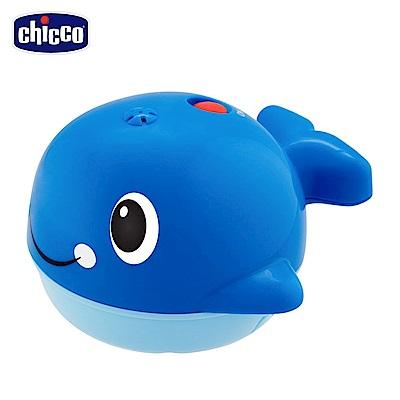chicco-噴泉鯨魚洗澡玩具