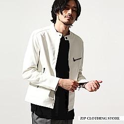 薄款騎士外套皮衣(13色) ZIP日本男裝