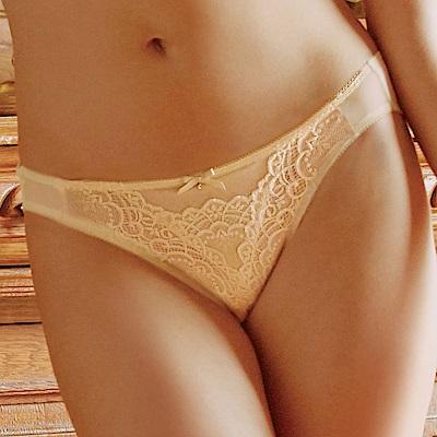 推EASY SHOP-水漾魔塑弧蝶2.0 低腰三角褲(杏膚色)