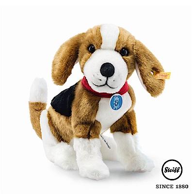 STEIFF德國金耳釦泰迪熊 Nelly The Beagle 小狗(動物王國)