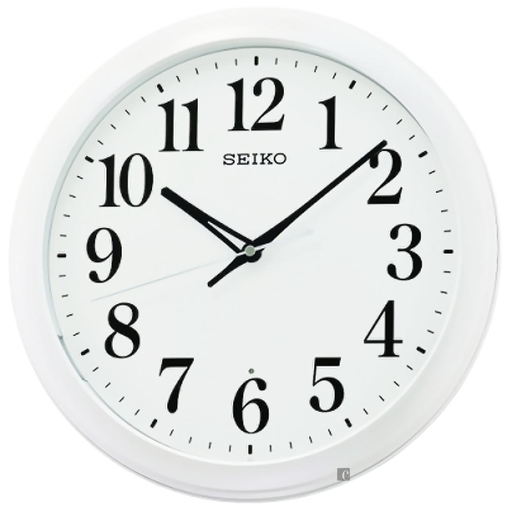 SEIKO 精工 滑動式秒針靜音掛鐘 QXA776W