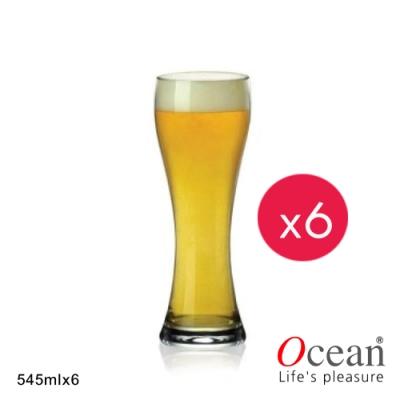 OCEAN 帝國啤酒杯 545ML-6入組
