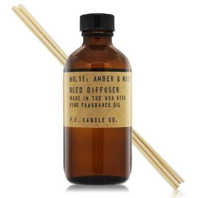 美國 P.F. Candle Co. 手工製室內擴香-琥珀綠苔 No.11 Amber & Moss 3.5oz