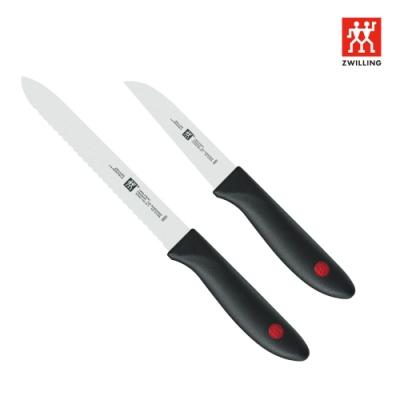[限時77折] 德國雙人 ZWILLING Twin Point刀具二件組(削皮刀+鋸齒刀)