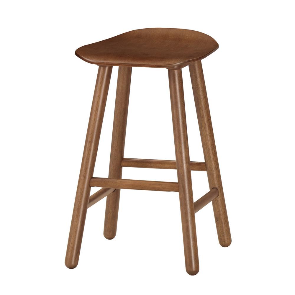 Bernice-諾文實木吧台椅/高腳椅/單椅(三色可選)-二入-40x39x64cm