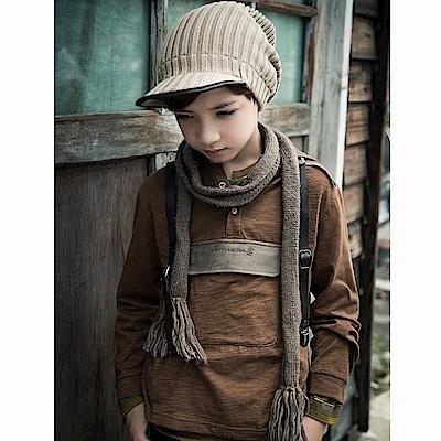PIPPY 暖暖連帽上衣 土黃